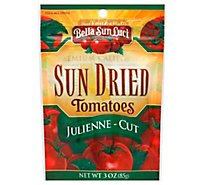 Bella Sun Luci Tomatoes Sun Dried Halves Julienne Prepacked - 3 Oz