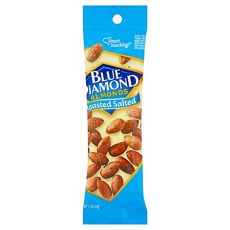 Blue Diamond Almonds Roasted Salted - 1.5 Oz