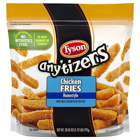 Tyson Anytizers Home-Style Chicken Fries - 28.05 Oz