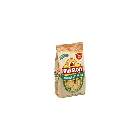 Mission Tortilla Rounds Restaurant Style - 20 Oz