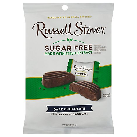 Russell Stover Premium Solid Dark - 3 Oz
