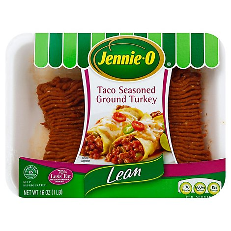 Jennie-O Turkey Store Turkey Ground Turkey Lean Taco Seasoned - 16 Oz