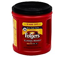 Folgers Coffee Ground Medium Roast Classic Roast - 38.4 Oz