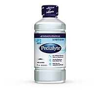 Pedialyte Electrolyte Solution Ready-to-Drink Unflavored - 35 fl oz
