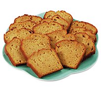 Fresh Baked Pumpkin Slice Cake Loaf - Each