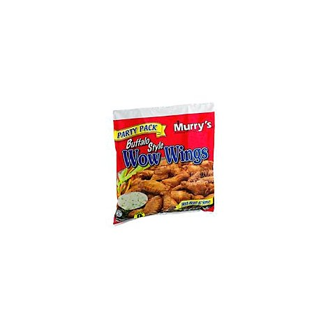 Murrys Chicken Wings Buffalo Club Pack - 44 Oz