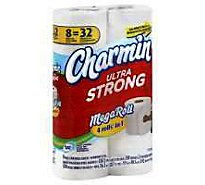 Charmin Ultra Strong Bathroom Tissue Mega Rolls 2 Ply - 8 Roll
