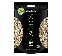 Wonderful Pistachios Roasted & Salted Bag - 16 Oz