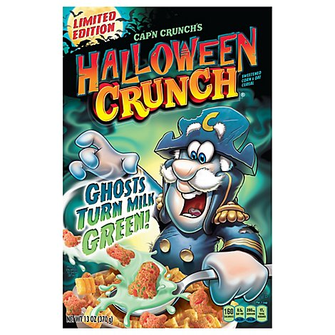 Cap N Crunch Cereal Halloween Crunch - 13 Oz