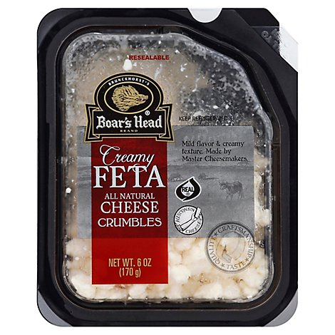 Boars Head Cheese Feta Crumbled - 6 Oz
