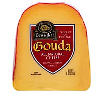 Boars Head Cheese Pre Cut Gouda - 8 Oz