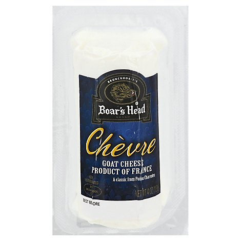 Boars Head Cheese Goat Logs - 4 Oz