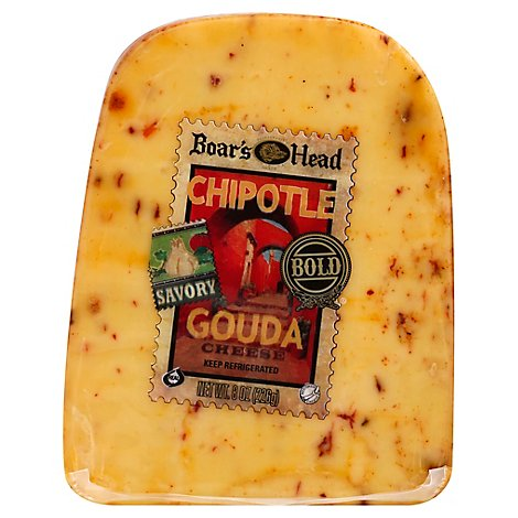 Boars Head Cheese Gouda Chipolte - 8 Oz