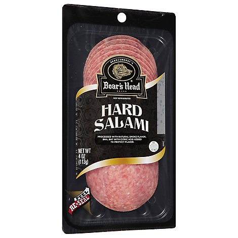 Boars Head Salami Hard - 4 Oz
