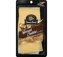 Boars Head Cheese Cheddar White Vermont - 8 Oz