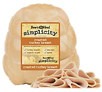 Boars Head Simplicity All Natural Turkey Breast Roasted - 0.50 LB