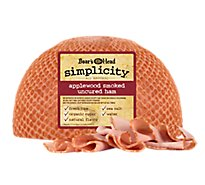 Boars Head Simplicity All Natural Ham Smoked Uncured - 0.50 LB