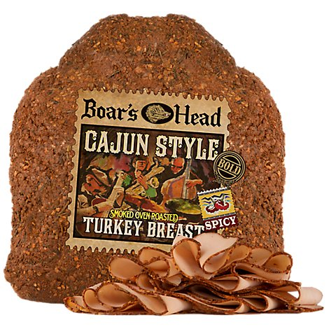 Boars Head Bold Cajun Turkey - 0.50 Lb