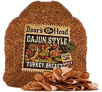 Boars Head Bold Turkey Breast Cajun Smoked Oven Roasted - 0.50 LB