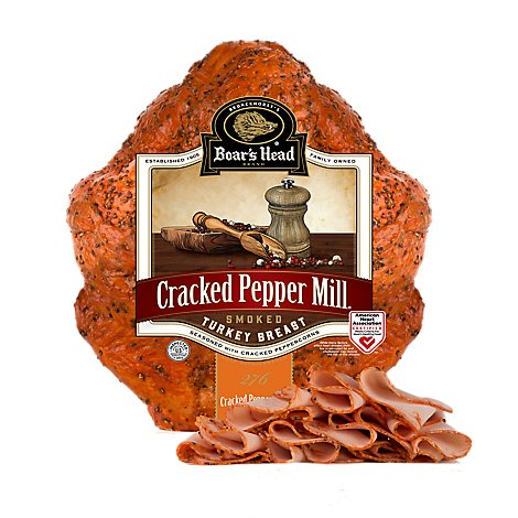 Boars Head Cracked Peppermill Turkey - 0.50 Lb.