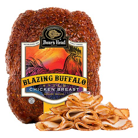 Boars Head Chicken Breast Blazing Buffalo Style Roasted - 0.50 LB