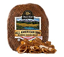 Boars Head Chicken Breast All American BBQ Seasoned Roasted - 1.00 LB