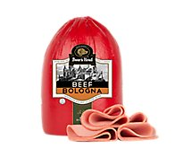 Boars Head Beef Bologna - 0.50 Lb