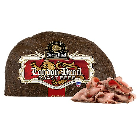 Boars Head London Broil Roast Beef - 0.50 Lb.