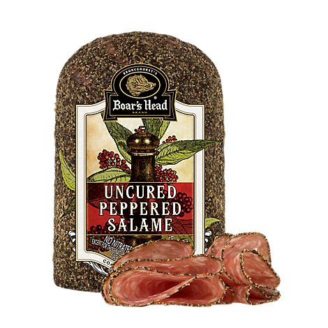 Boars Head Salami Peppered - 1.00 LB