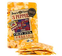 Boars Head Cheese Colby Jack Bold 3 Pepper - 0.50 LB