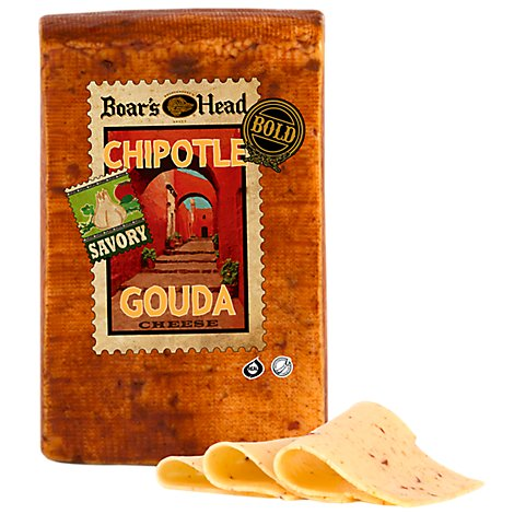 Boars Head Cheese Gouda Chipolte Bold - 1.00 LB