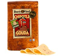Boars Head Cheese Gouda Chipolte Bold - 0.50 LB