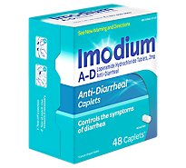 Imodium Anti-Diarrheal Caplets - 48 Count