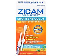 Zicam Cold Remedy Nasal Swabs - 20 Count