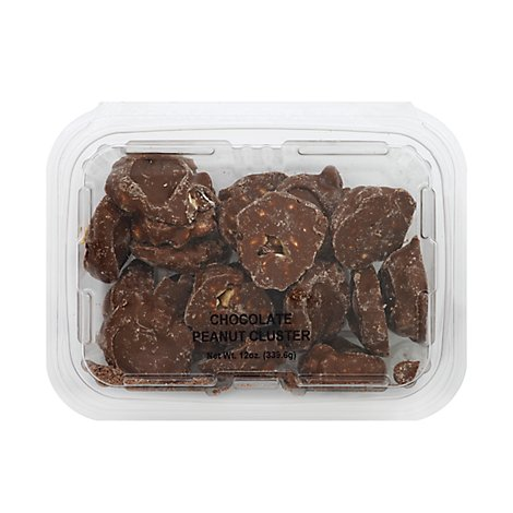 Clusters Packaged Chocolate Peanut - Each