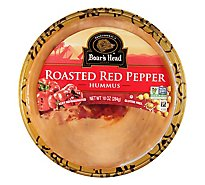 Boars Head Hummus Roasted Red Pepper - 10 Oz
