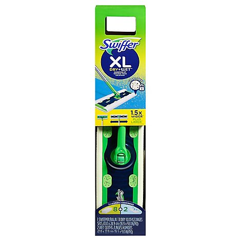 Swiffer Sweeper Dry + Wet Sweeping Kit XL - Each