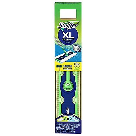 Swiffer Sweeping Kit Dry + Wet 1 Mop 10 Refills XL - Each