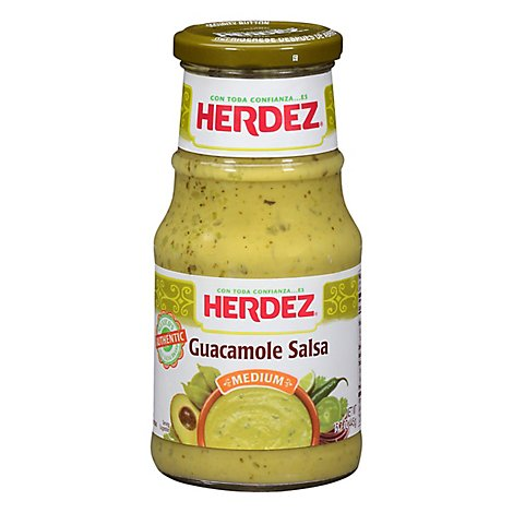 Herdez Guacamole Medium Jar - 15.7 Oz