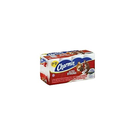 Charmin Bathroom Tissue Ultra Strong Double Roll - 16 Roll