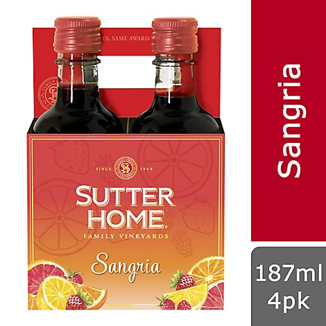 Sutter Home Family Vineyards Sangria Wine - 187 Ml