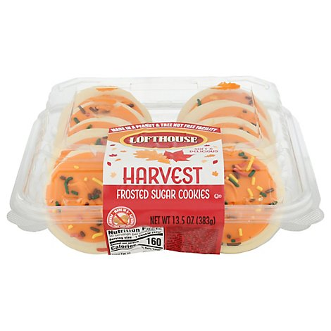 Cookie Frosted Yellow Harvest - Each