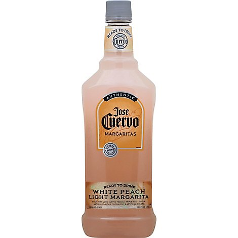Jose Cuervo Margarita Light White Peach - 1.75 Liter