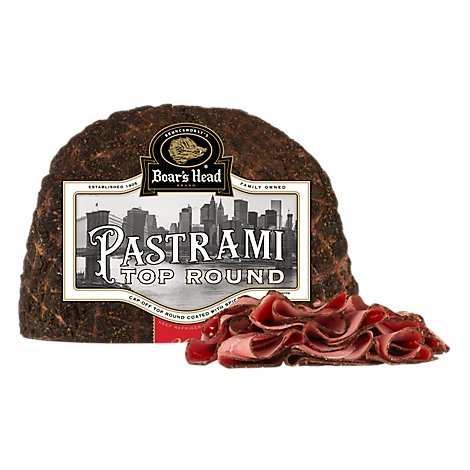 Boars Head Pastrami Top Round - 0.50 LB