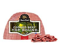 Boars Head Beef Corned Beef Top Round - 1.00 LB