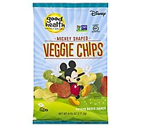 Good Health Veggie Chips Mickey Shaped - 6.75 Oz