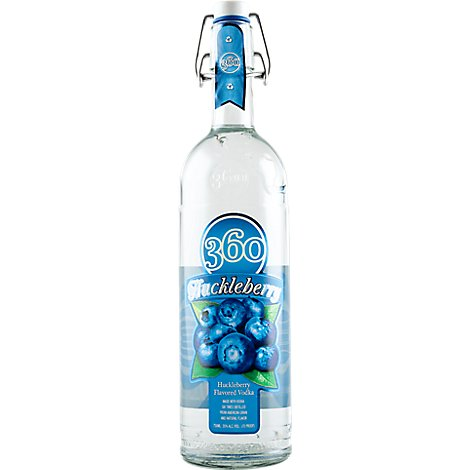 360 Vodka Huckleberry 70 Proof - 750 Ml