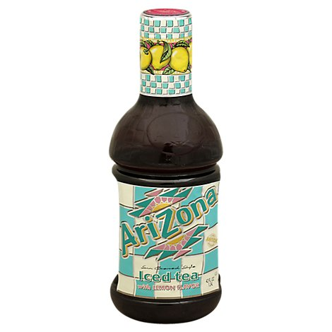 AriZona Iced Tea with Lemon Flavor Sun Brewed Style - 42 Fl. Oz.