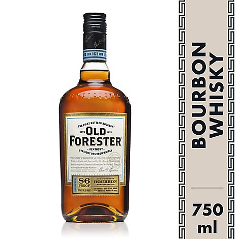 Old Forester Whiskey Kentucky Straight Bourbon 86 Proof - 750 Ml