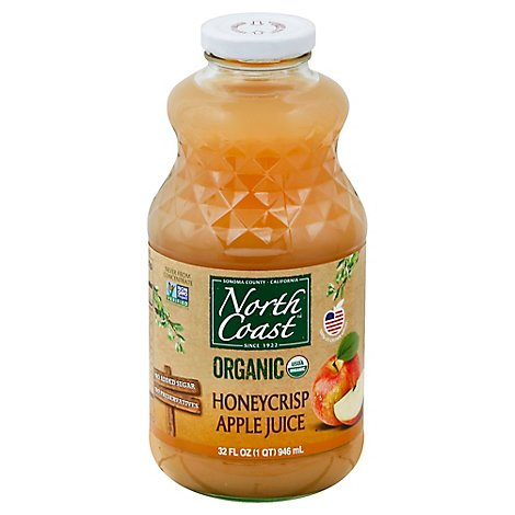 North Coast Juice Organic Apple Honeycrisp - 32 Fl. Oz.